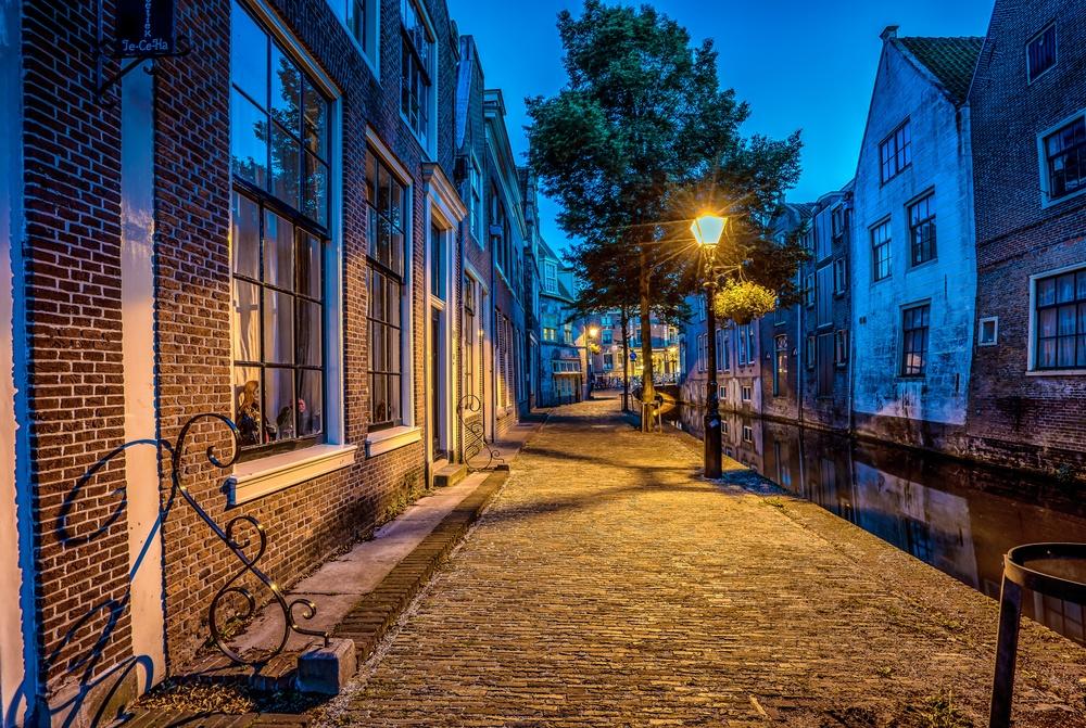 Straatverlichting in Alkmaar wordt getest.